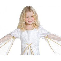 1822fcf6a5862 Déguisement ange blanc fille   Déguisement ange enfant ange fille Noël