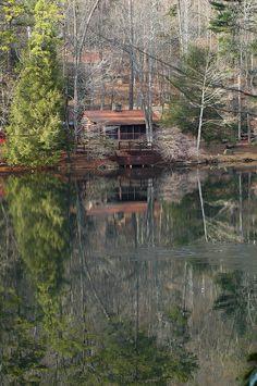 log cabin, Vogel State Park, northern Georgia