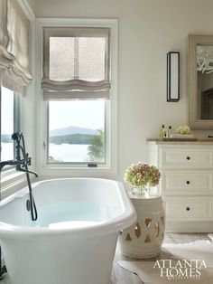 beth web atlanta homes lifestyles sheer roman shade