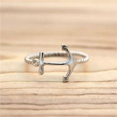 Simple and chic ring. Details - Face Height: 11 mm - Finish: Rhodium plated - Metal: 925 Sterling Silver