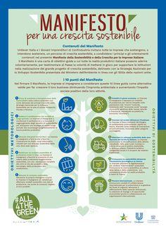 "Infographic project ""Manifesto per le imprese"". For Unilever / Edelman - 2017 by Pensabene Design #infographic #pensabenedesign, #infographicdesign #manifestoperleimprese #all4thegreen"