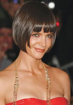 Groovy Bob With Bangs Smooth And Bangs On Pinterest Short Hairstyles For Black Women Fulllsitofus