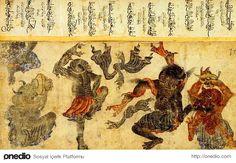 Mehmet Siyah Kalem (Siyah Qalem, Siyah Qalam), Mehmet Matita Nera, un grande maestro misconosciuto. Tibet Art, Middle Eastern Art, Exquisite Corpse, Medieval Paintings, Drawing Sketches, Drawings, Classical Art, Japan Art, Ancient Aliens