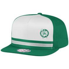 quality design deadb 38cf6 Pacific Stripe Pinch Panel Snapback Boston Celtics Mitchell   Ness  Nostalgia Co.