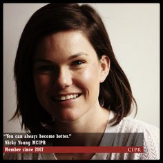Nicky Young - CIPR Member since 2007