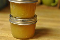 apple-ginger jam half pints by Marisa | Food in Jars, via Flickr