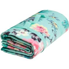 H&M Picnic blanket (€11) ❤ liked on Polyvore featuring home, bed & bath, bedding, blankets, turquoise, water resistant blanket, turquoise bedding, picnic blanket, patterned bedding en turquoise blanket