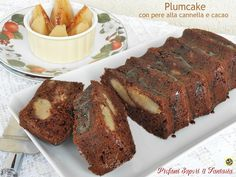 Plumcake con pere alla cannella e cacao Blog Profumi Sapori & Fantasia