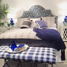 Furniture in Knoxville - Rowe Furniture - Braden's Lifestyles Furniture - Custom Upholstered Headboards - Over 500 fabrics - Home Décor - Home Interiors - Interior Design - The Design Center at Braden's