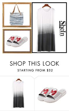 """""""shein style"""" by sheinside ❤ liked on Polyvore featuring New Look"""