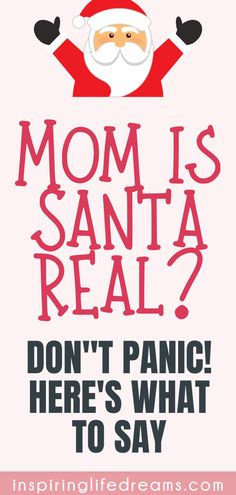 I know it's our worst nightmare when our kids finally ask us this question but Here's Exactly What To Say When Your Child Asks Is Santa Real? Mindful Parenting, Parenting Teens, Kids And Parenting, Parenting Hacks, Letter Explaining Santa, Santa Letter, Grinch Christmas, Christmas Carol, Simple Christmas
