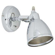 Kinkiet LAMPA ścienna THELON 5657 Nowodvorski regulowana OPRAWA reflektorowa chrom