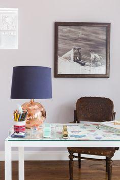 Home Office Interior Design Austin Bean Studio Photography Alyssa