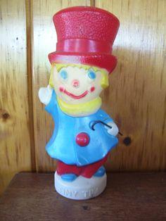 Rare Tiny Tim Christmas Blow Mold Light Vintage 1972. $55.00, via Etsy.