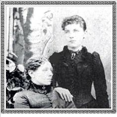 "Laura's Sweet Memories: Caroline Ingalls with her daughter Mary, her ""Mother's Day"" meal was remembered & written about by Laura ~M x"