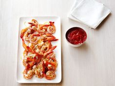 Roasted Shrimp Cocktail recipe from Ina Garten via Food  Looks like Mom's cocktail sauce recipe from many decades ago, and it was good!