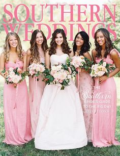 Pick up this volume and all of our beautiful magazines for some inspiration at the Southern Weddings Shop!