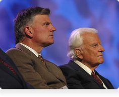 Reverand Franklin & Billy Graham (s)