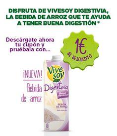 Chatis, aprovechad el #descuento que ofrece Vivesoy en esta nueva bebida vegetal. ¡Compartid para que todo el mundo se entere!