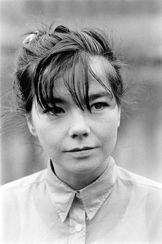 Björk by Paul Bergen 1995. I saw a picture of this girl in a magazine and fell in love, before I even heard her sing.