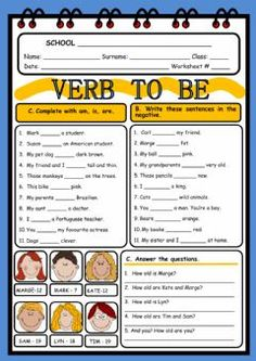 Nice Practice Worksheets For Verb To Be that you must know, Youre in good company if you?re looking for Practice Worksheets For Verb To Be English Test, English Verbs, English Lessons, Learn English, English Grammar Worksheets, Verb Worksheets, English Vocabulary, Teacher Worksheets, Verbo To Be Ingles