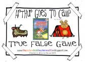 Arthur Goes To Camp by Marc Brown True False Comprehension game product from All-Things-Picture-Books on TeachersNotebook.com