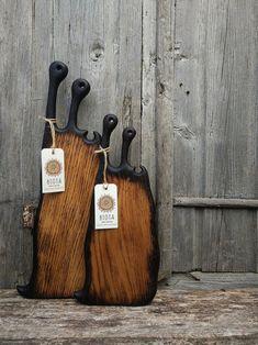 Large Wood Serving Board Oak Cutting Board Cheese Board | Etsy Wooden Chopping Boards, Wooden Plates, Serving Board, Gifts For Him, Cutting Board, Cheese, Etsy, Cutting Tables, Cutting Boards