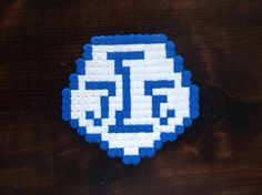 Leksands IF Lif with hama perler Beads, Hama, Beading, Pearls, Bead Weaving, Seed Beads, Beaded Necklace, Bead