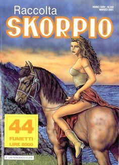 Fumetti EDITORIALE AUREA, Collana SKORPIO RACCOLTA n°322 MARS 2001