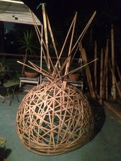 Bamboo pineapple