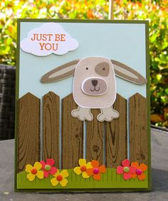 Krystal's Cards: Stampin' Up! Playful Pals Pound Puppy #stampinup #krystals_cards #playfulpals #poundpuppy