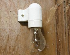 these would be great for bed side lights - i just need a corded version. Industrial House, Industrial Lighting, Interior Lighting, Kitchen Lighting, Factory Lighting, Bedside Lighting, Light Fittings, Light Bulb, Sconces