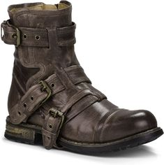 Uggs are not only the most loved but also the most controversial boots on the market. This article will answer both those questions! Grey Leather Boots, Leather Motorcycle Boots, Grey Ankle Boots, Buckle Ankle Boots, Leather Men, Ankle Booties, Moto Boots, Leather Booties, Steampunk Boots Mens