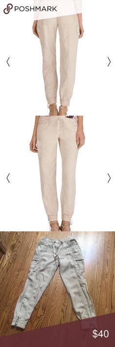 White House Black Market khaki joggers Amazing pants. Need to thin out my closet. Smoke free home. Size 4. Super soft and comfy! Offers considered 👍🏻 White House Black Market Pants Track Pants & Joggers