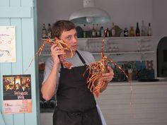 La Louche restaurant, antiparos, greece Bart Van Capellen chef
