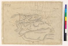 Title: [Diseño del Rancho San Miguel : San Francisco, Calif.] [1857] Description: From: U.S. District Court. California, Northern District. Land case 6 ND, page 61; land case map B-9 (Bancroft Library). José de Jesus Noe, clmt. Oriented with north toward lower right. Pencil and pen-and-ink.4364 S5:2S62 UC Berkeley, Bancroft Library