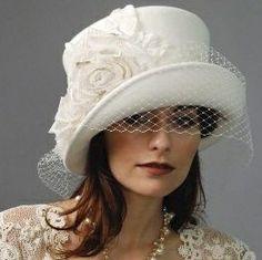 ☮shabby chic.hat