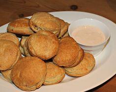 Chicken Empanadas with Chipotle Cream