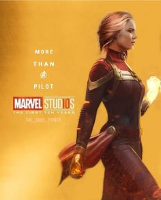 Captain Marvel, the most powerful person in the Marvel Universe. She will save them all.