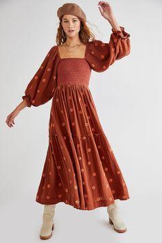 Fall Dresses, Pretty Dresses, Casual Dresses, Lace Maxi, Chiffon Dress, Free Clothes, Clothes For Women, Print Chiffon, Free People Dress