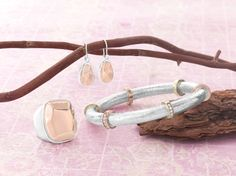 New for sling/summer Silpada rose & sterling collection. Visit mysilpada/leann.babcock