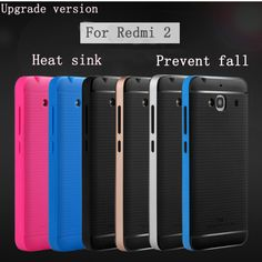New Upgraded version Bumblebee Hybrid phone case For xiaomi redmi 2 High quality PC frame+Silicon back cover for Xiaomi redrice2