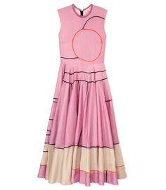 Roksanda Ilincic 'Rose Carrick' Crinkle Texture Dress