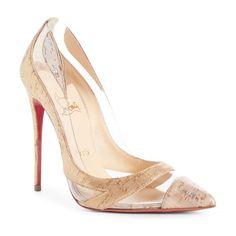 9f0b4f8b6a1 Christian Louboutin blake pointy toe pump.  christianlouboutin  nudeshoes   pumps  heels Pumps