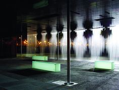 Digital Water Pavilion Turns Water into Walls of Art Kinetic Architecture, Water Architecture, Ted, Cities, Water Walls, Landscape Plans, Fish Tank, Water Features, Illusions
