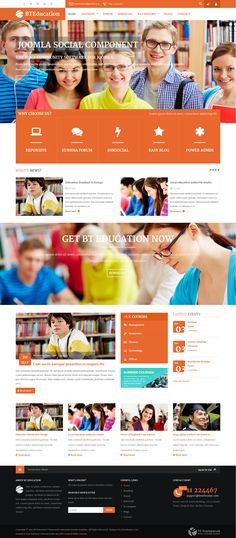 BT Education is one of the best solutions not only education websites but also websites which concentrate on interaction of social networks and communities.
