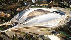 Estádio controverso no Japão. O último dos casos de recintos irreverentes - O projeto exige já um investimento de 2,02 mil milhões