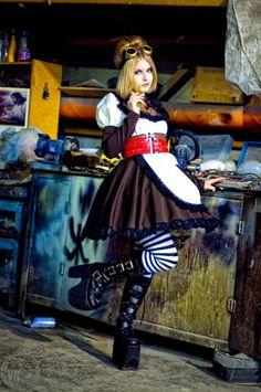 Mr Steampunk One — arsenicinshell: Steampunk Alice