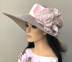 Made in my millinery studio in the Hollywood Hills. One-of-a-kind. Ascot, Kentucky Derby, Wedding Hat. View entire collection at: AwardMillineryDesign.com Please re-pin and share on social media. Thank you.