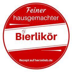Etikett für Bierlikör zum kostenlosen Download